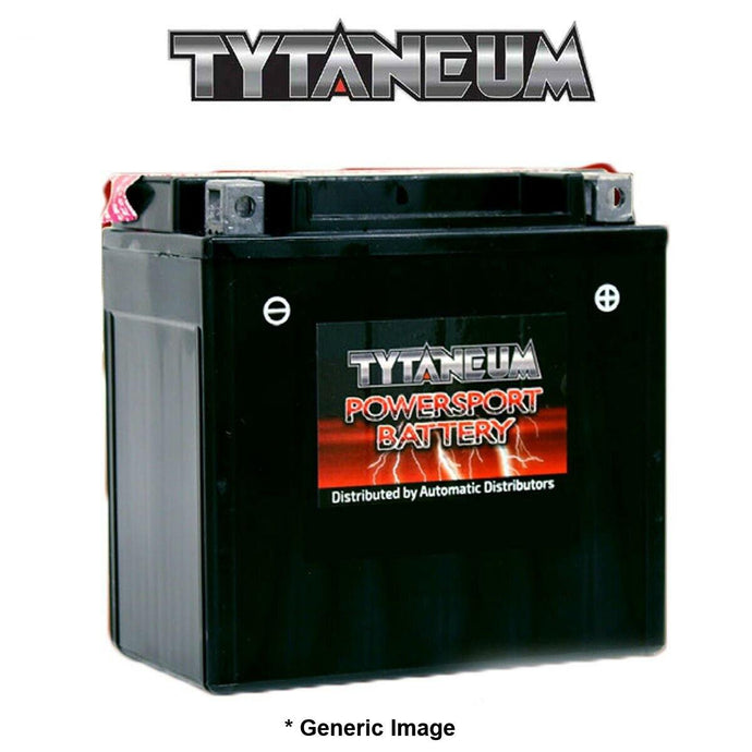 Tytaneum Maint-Free Battery KTX14AH Factory-Activated