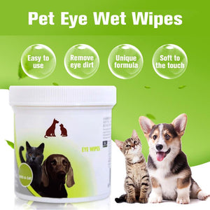 Pet Eye Wet Wipes