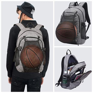 USB Shoulder Sports Basketball Bag