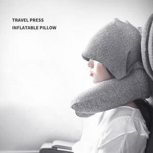 Shade Hooded Air Pillow