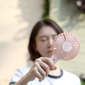 Mini Phone Holder Handheld Fan