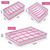 Folding Underwear Storage Box(1 Set)