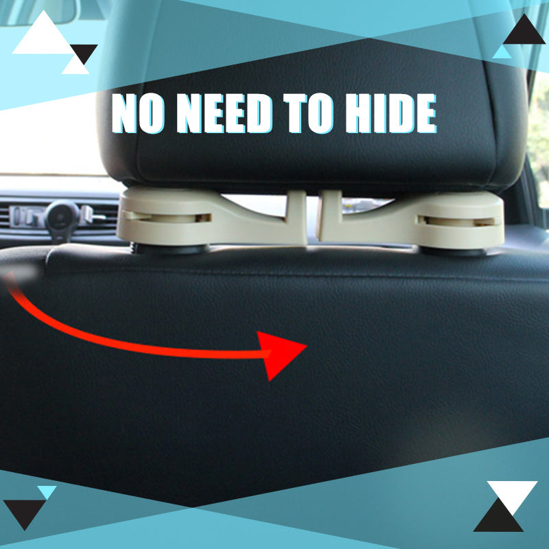 Car Vehicle Back Seat Hidden Hook (2Pcs)