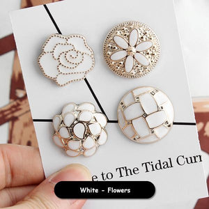 Sewing Free Coat Button (12 Pcs)