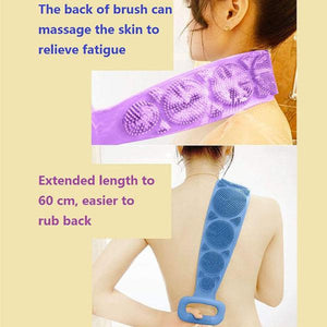 Silicone Body Brush Bath Belt