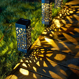 Solar Powered Vintage Garden Light