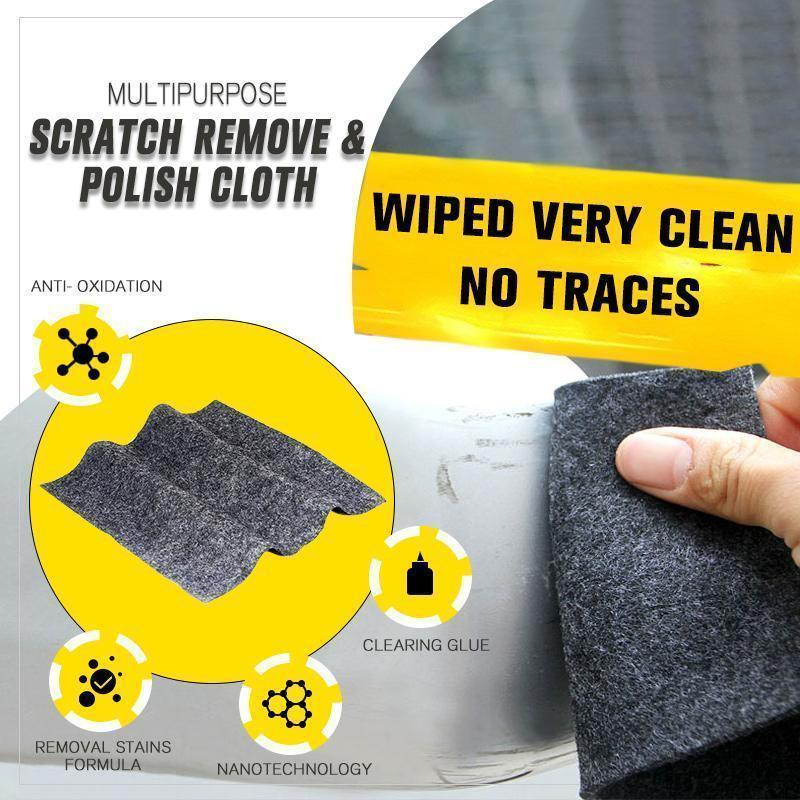 Multi-Function Scratch Remover Polish Cloth