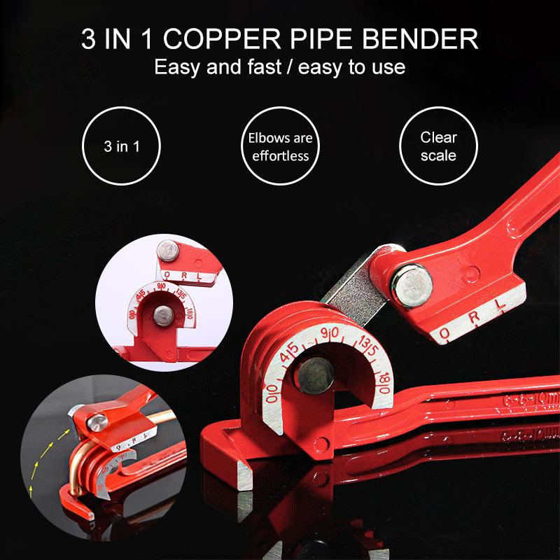 3 In 1 Copper Pipe Bender