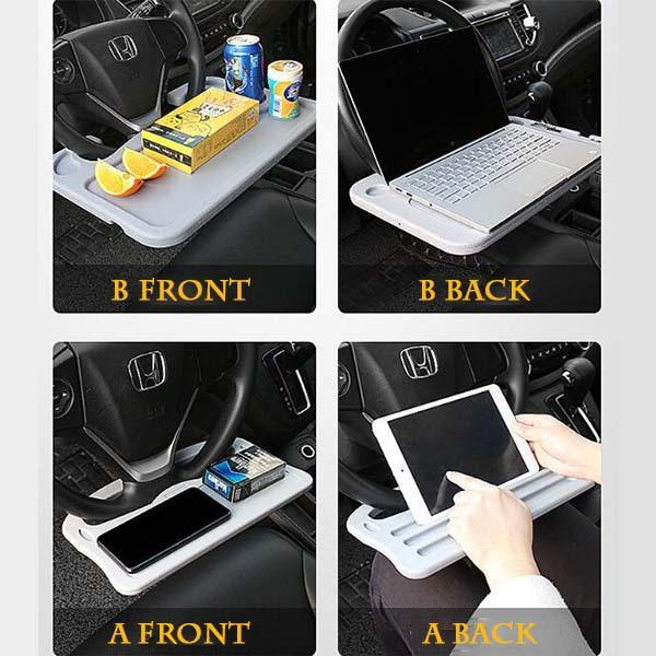 Car Steering Wheel Storage Table