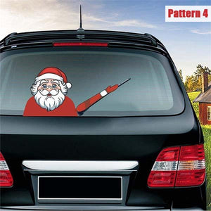 Santa Claus Wiper Car Stickers