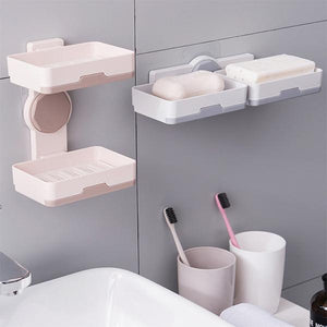 Double Layer Draining Soap Holder