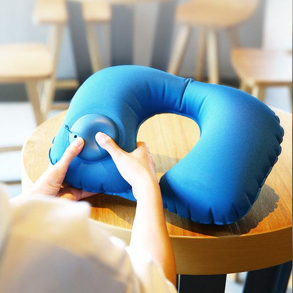 Travel Inflatable U Neck Pillow