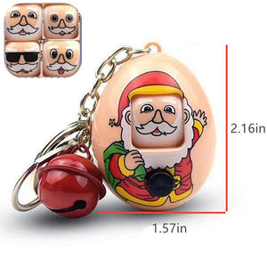 Santa Claus Expression Eggs Keychains (Buy one get one free)