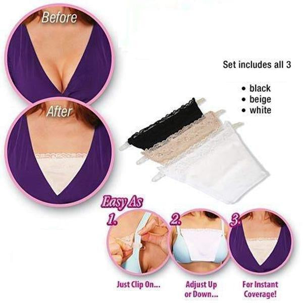 Anti Peep Invisible Bra