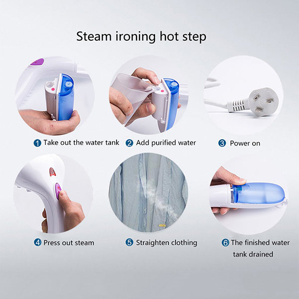 Portable Steam Electric Iron