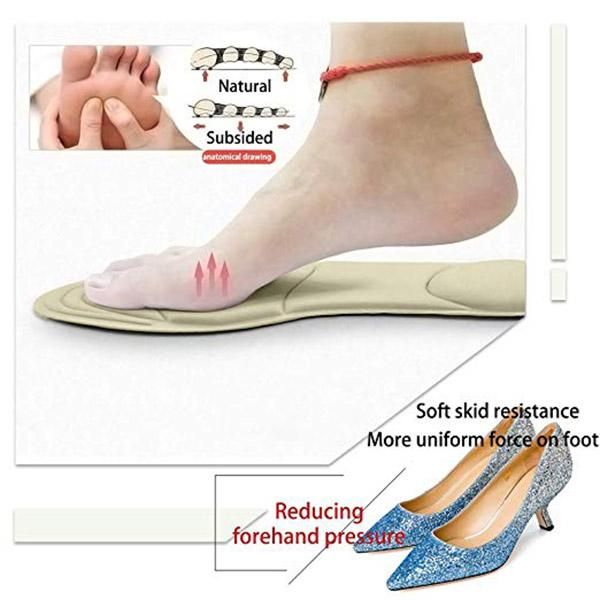 2 In 1 Soft Massage Anti-pain High Heel Pad