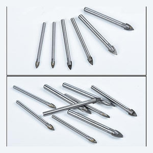 Triangle Spear Point Head Glass and Tile Drill Bit