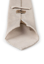 back of the white grenadine tie