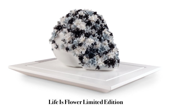 Lladro Life Is Flower Limited Edition Porcelain Sculpture