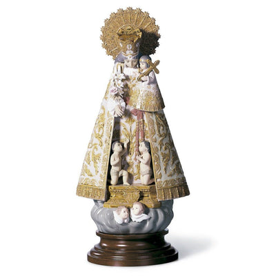Lladro Porcelain Our Lady of the Forsaken Figurine - Numbered Edition Figurines Lladro