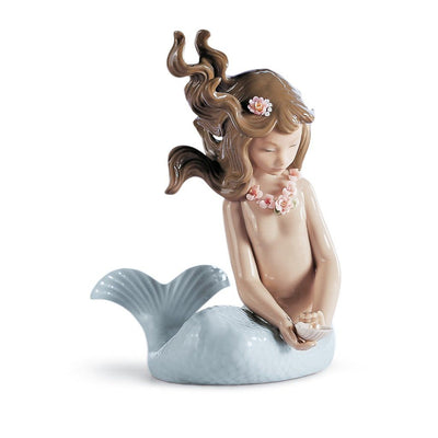 Lladro Porcelain Mirage Mermaid Figurine Figurines Lladro