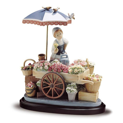 Lladro Porcelain Flowers Of The Season Figurine Figurines Lladro