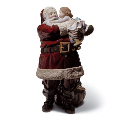 Lladro Porcelain Santa, I've Been Good! Figurine LE 2000 Figurines Lladro