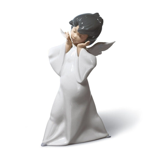 Lladro Porcelain Mime Angel Figurine Figurines Lladro