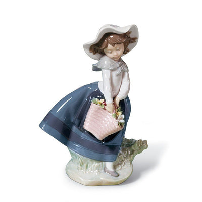 Lladro Porcelain Pretty Pickings Figurine Figurines Lladro