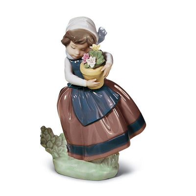 Lladro Porcelain Spring Is Here Figurine Figurines Lladro