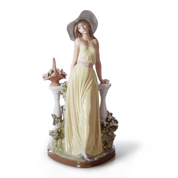 Lladro Porcelain Time For Reflection Figurine Figurines Lladro