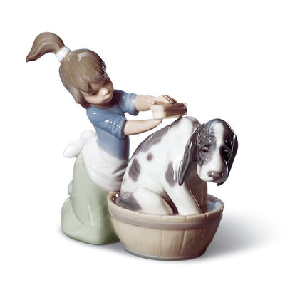 Lladro Porcelain Bashful Bather Figurine Figurines Lladro