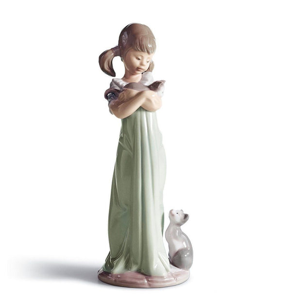 Lladro Porcelain Don't Forget Me! Figurine Figurines Lladro