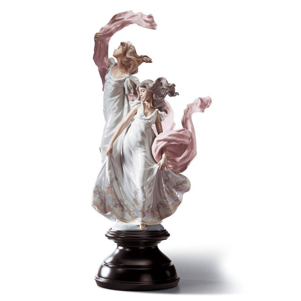 Lladro Porcelain Allegory Of Liberty Figurine Figurines Lladro