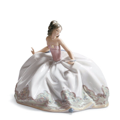 Lladro Porcelain At The Ball Figurine Figurines Lladro