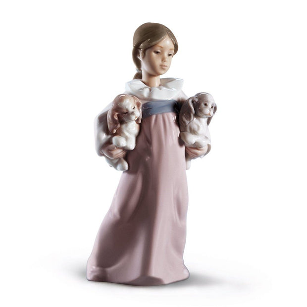 Lladro Porcelain Arms Full Of Love Figurine Figurines Lladro