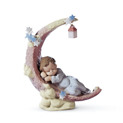 Lladro Porcelain Heavenly Slumber Figurine Figurines Lladro