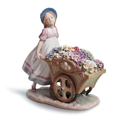Lladro Porcelain Love's Tender Tokens Figurine Figurines Lladro