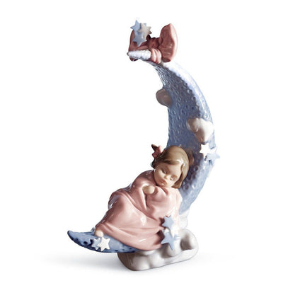 Lladro Porcelain Heaven's Lullaby Figurine Figurines Lladro