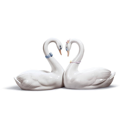 Lladro Porcelain Endless Love Figurine Figurines Lladro