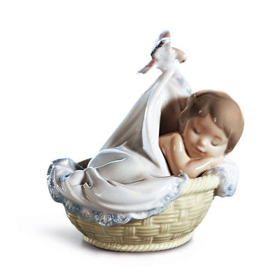 Lladro Porcelain Tender Dreams Figurine Figurines Lladro