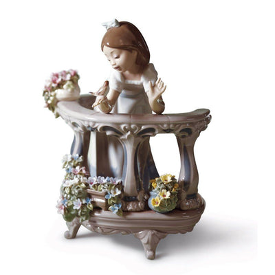 Lladro Porcelain Morning Song Figurine Figurines Lladro