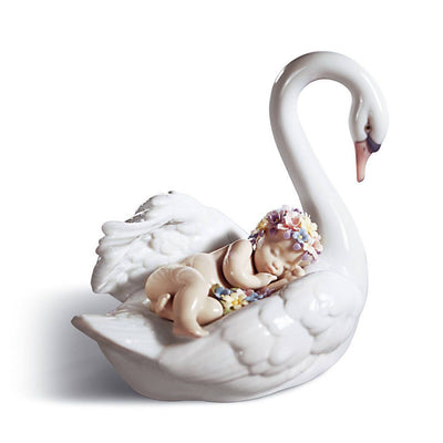 Lladro Porcelain Drifting Through Dreamland Figurine Figurines Lladro