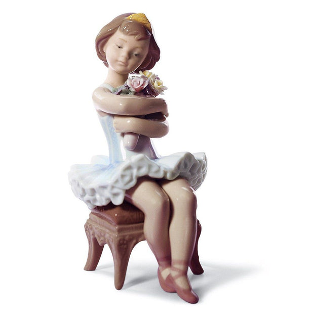 Lladro Porcelain First Performance Figurine Figurines Lladro