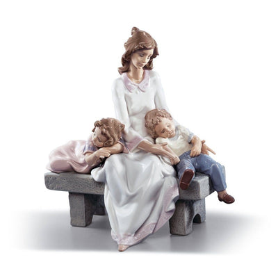 Lladro Porcelain An Afternoon Nap Figurine Figurines Lladro