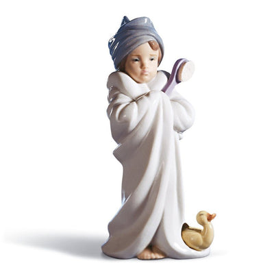 Lladro Porcelain Bundled Bather Figurine Figurines Lladro