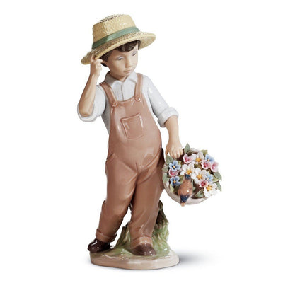 Lladro Porcelain My Happy Friend Figurine Figurines Lladro