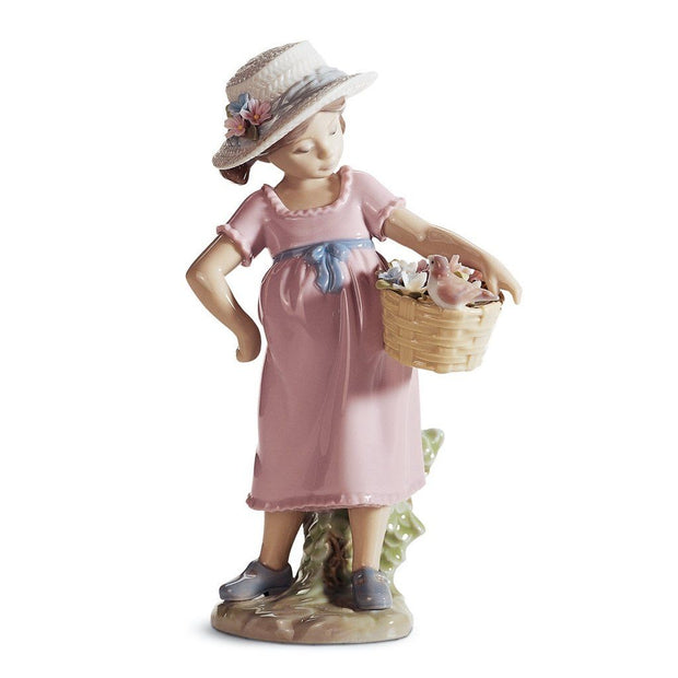 Lladro Porcelain You're So Cute! Figurine Figurines Lladro