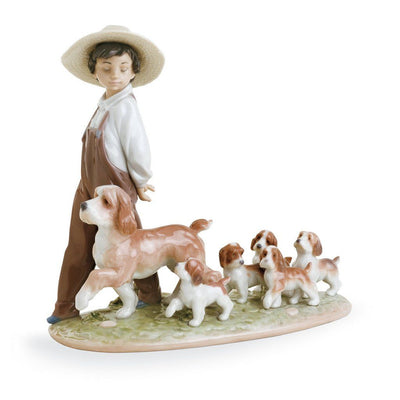 Lladro Porcelain My Little Explorers Figurine Figurines Lladro