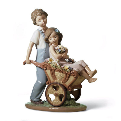 Lladro Porcelain The Prettiest Of All Figurine Figurines Lladro